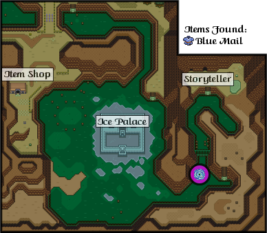 The Legend of Zelda: A Link to the Past/Ice Lake