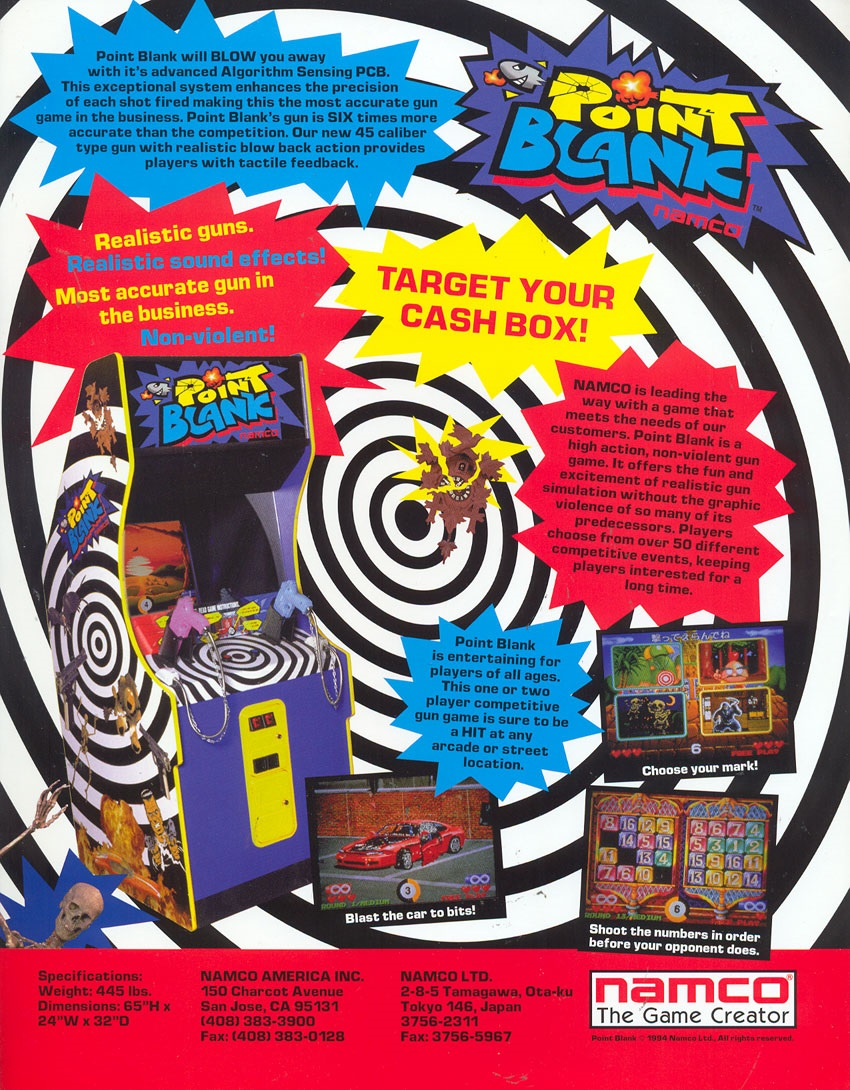 Point Blank Strategywiki The Video Game Walkthrough And