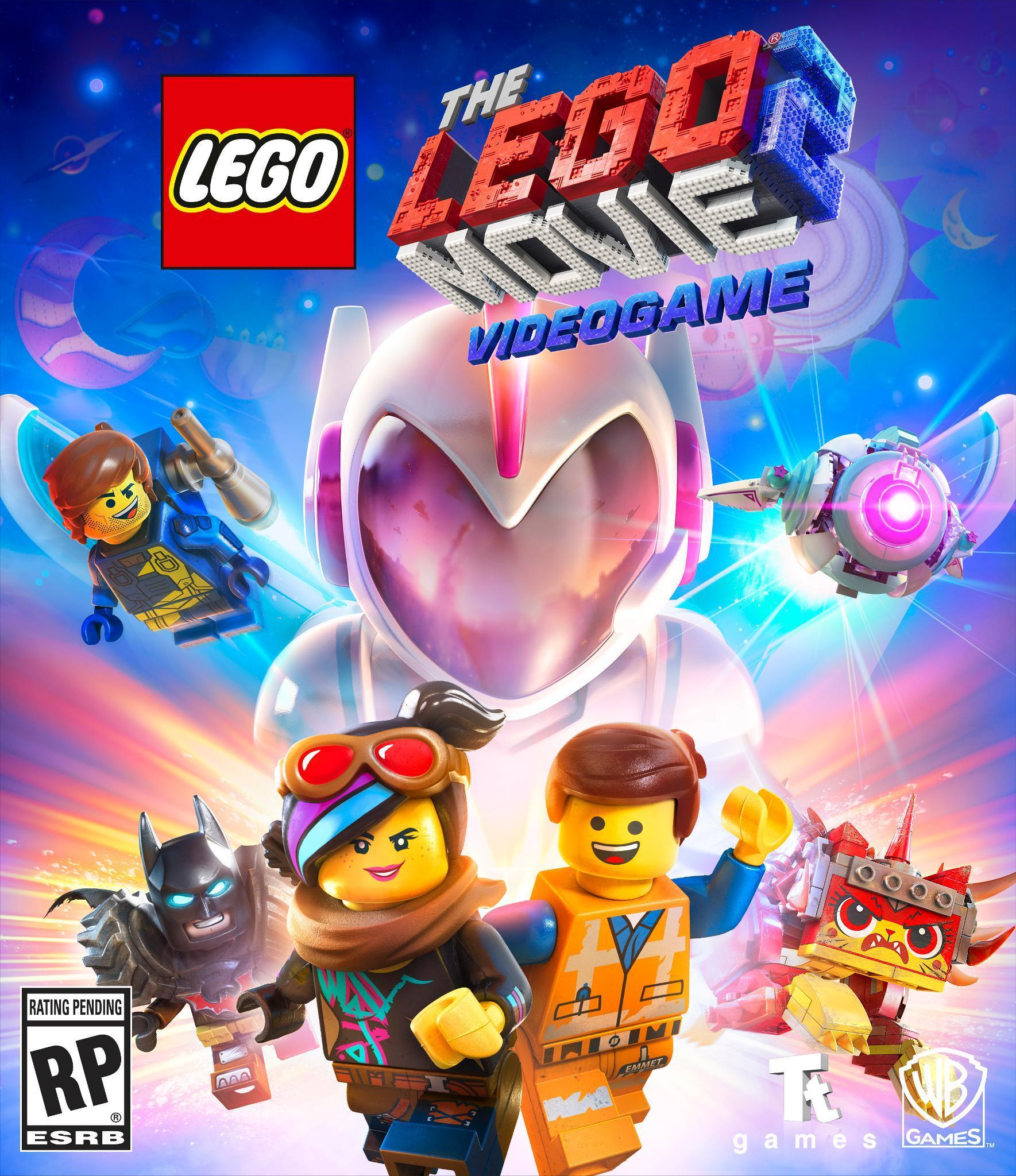 Box artwork for The LEGO Movie 2 Videogame.