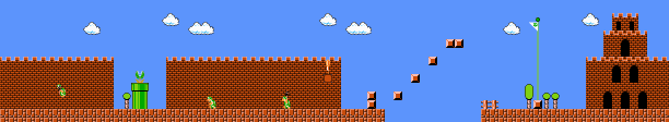 Super Mario Bros /World 8 — StrategyWiki, the video game