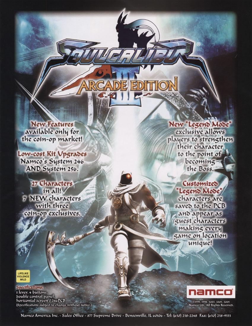 Soulcalibur III - StrategyWiki, the video game walkthrough ...