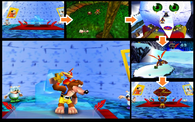 Banjo Kazooie Freezeezy Peak Strategywiki The Video