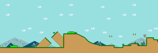 Super Mario World Chocolate Island 1 Strategywiki The Video Game