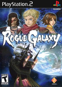 Box artwork for Rogue Galaxy.