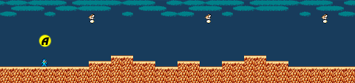Mega Man 2 map Wily Stage 1A.png