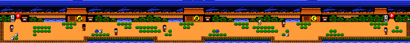 Ganbare Goemon 2 Stage 8 section 1.png