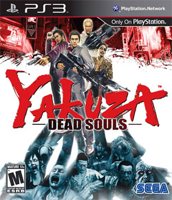 Box artwork for Yakuza: Dead Souls.