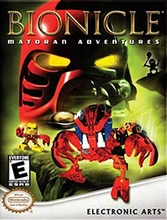 Box artwork for Bionicle: Matoran Adventures.