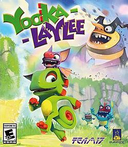 Box artwork for Yooka-Laylee.