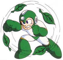 Mega Man 2 weapon artwork Leaf Shield.jpg
