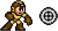 Mega Man 2 weapon sprite Metal Blade.png