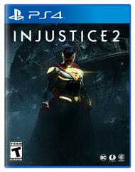 Box artwork for Injustice 2.