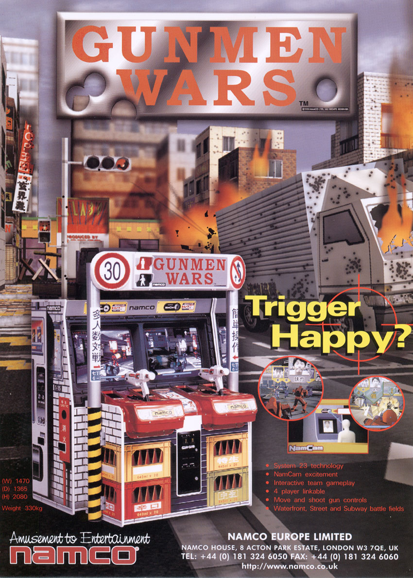 Gunmen Wars — StrategyWiki, the video game walkthrough and