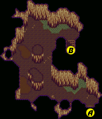 Secret of Mana map Gaia Navel tunnel b.png