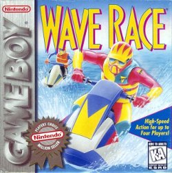 Box artwork for Wave Race.