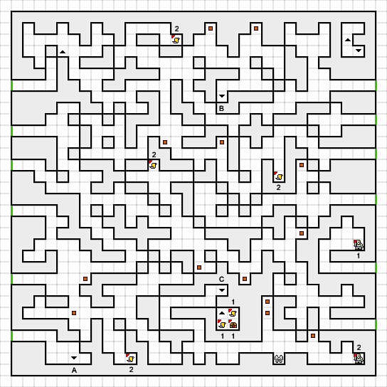 Deep Dungeon 3 map Cave 3.png