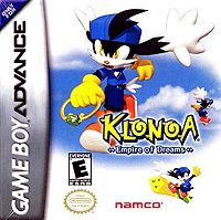 Box artwork for Klonoa: Empire of Dreams.