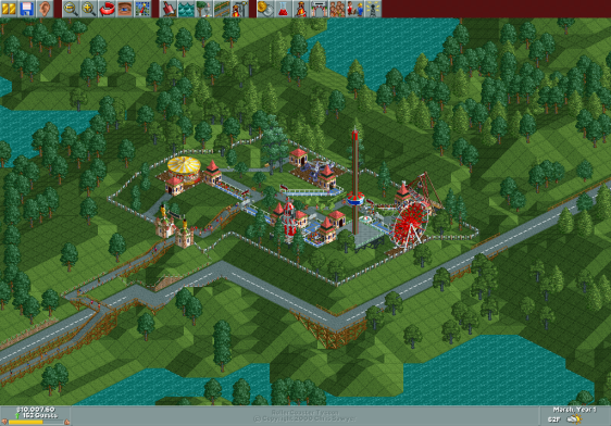 Rollercoaster Tycoon Dinky Park Strategywiki The Video