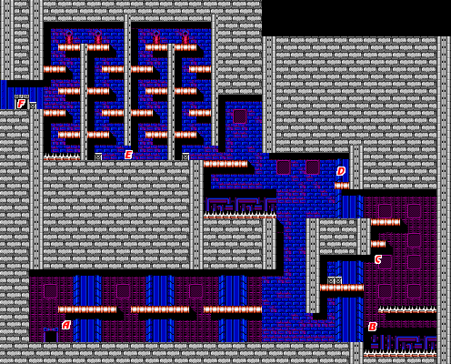 Bionic Commando NES map Area10a.png