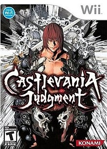 Box artwork for Castlevania Judgment.