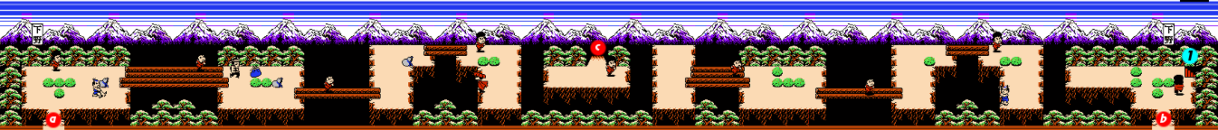Ganbare Goemon 2 Stage 8 section 2.png