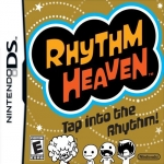 Box artwork for Rhythm Heaven.