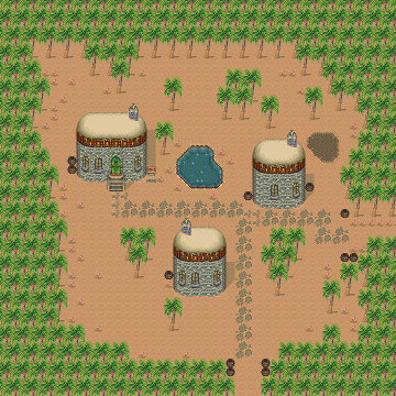 Secret of Mana map Kakkara Village.png