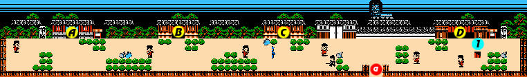 Ganbare Goemon 2 Stage 5 section 1.png