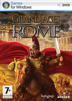 Box artwork for Grand Ages: Rome.