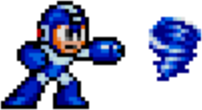 Mega Man 2 weapon sprite Air Shooter.png