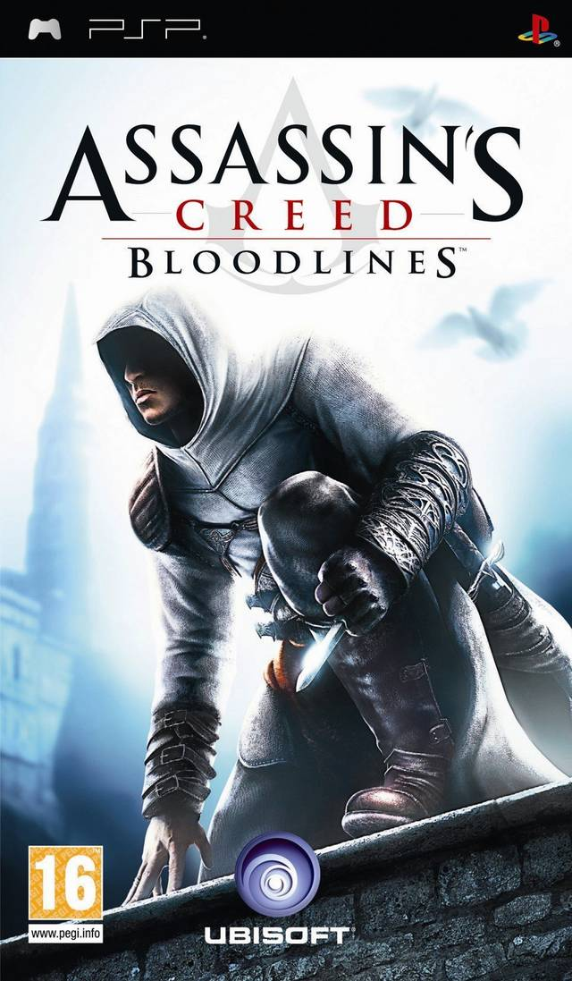 Box artwork for Assassin's Creed: Bloodlines.