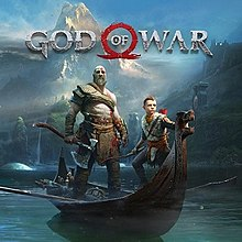 Box artwork for God of War (2018).