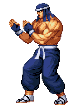 art of fighting 3 characters