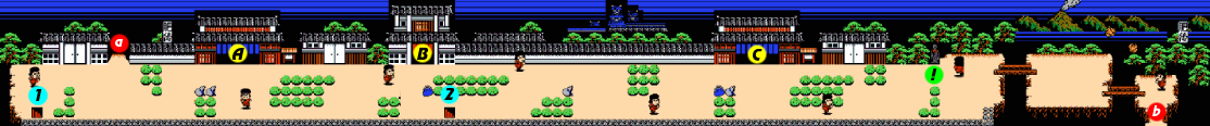 Ganbare Goemon 2 Stage 2 section 1.png