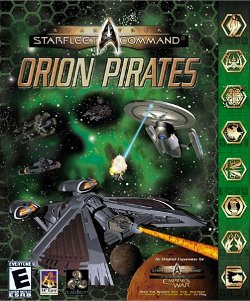 Box artwork for Star Trek Starfleet Command: Orion Pirates.