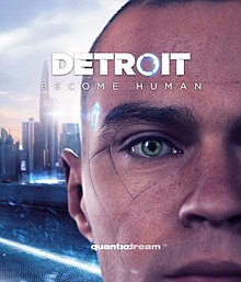 Box artwork for Detroit: Become Human.