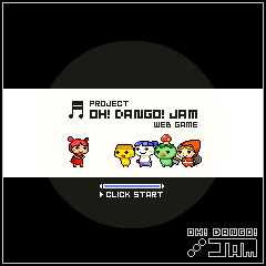 Box artwork for OH! DANGO! JAM.