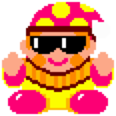 Rainbow Islands boss clown.png
