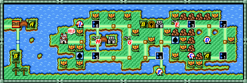Super Mario Bros 3 World 4 Strategywiki The Video Game