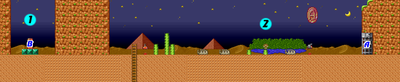Super Mario Bros  2/World 6-3 — StrategyWiki, the video game