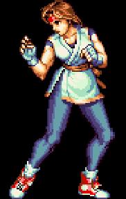 art of fighting 2 yuri sakazaki
