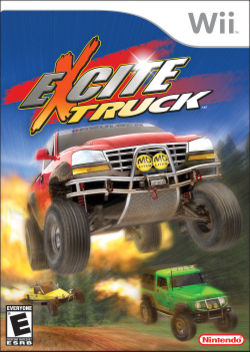 Box artwork for Excite Truck.
