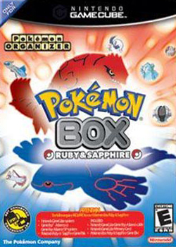 Box artwork for Pokémon Box: Ruby & Sapphire.