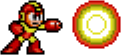 Mega Man 2 weapon sprite Atomic Fire.png