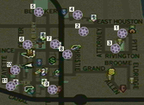 The Godfather: The Game/Film Reels — StrategyWiki, the video ... on mafia 2 map, halo 2 map, mother 2 map, the godfather map, godfather beverly hills house, batman 2 map, goonies 2 map, godfather game windows 8, half-life 2 map, godfather filming locations, godfather film, godfather five families, transformers 2 map, indiana jones 2 map, godfather movie house, saints row 2 map, just cause 2 map, godfather drawings, godfather 3 game, spiderman 2 map,