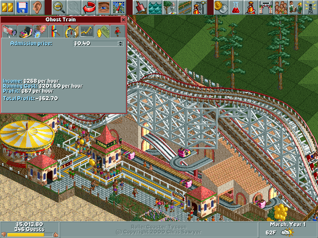 RollerCoaster Tycoon/Haunted Harbor — StrategyWiki, the video game