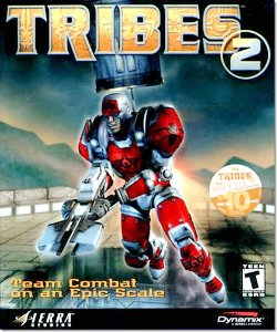 Box artwork for Tribes 2.