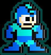 Megaman Nes Sprite