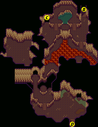 Secret of Mana map Gaia Navel tunnel c.png