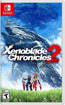 Box artwork for Xenoblade Chronicles 2.